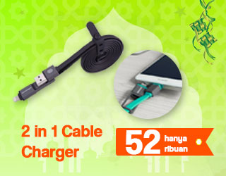 2 in 1 Cable Charger