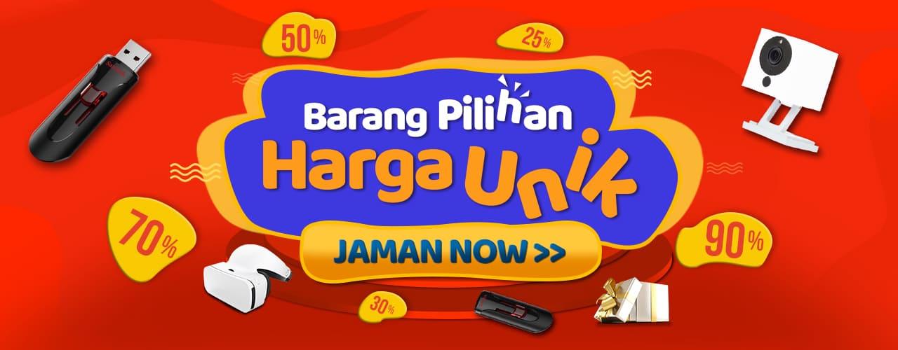 Harga Unik Jaman Now