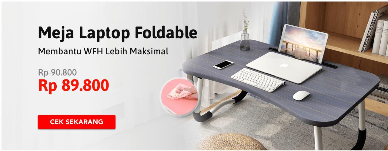 Meja Laptop Foldable
