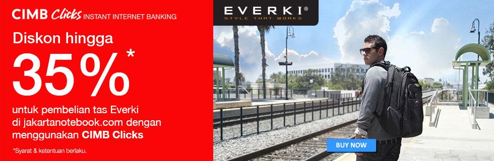 Everki for CIMB Clicks
