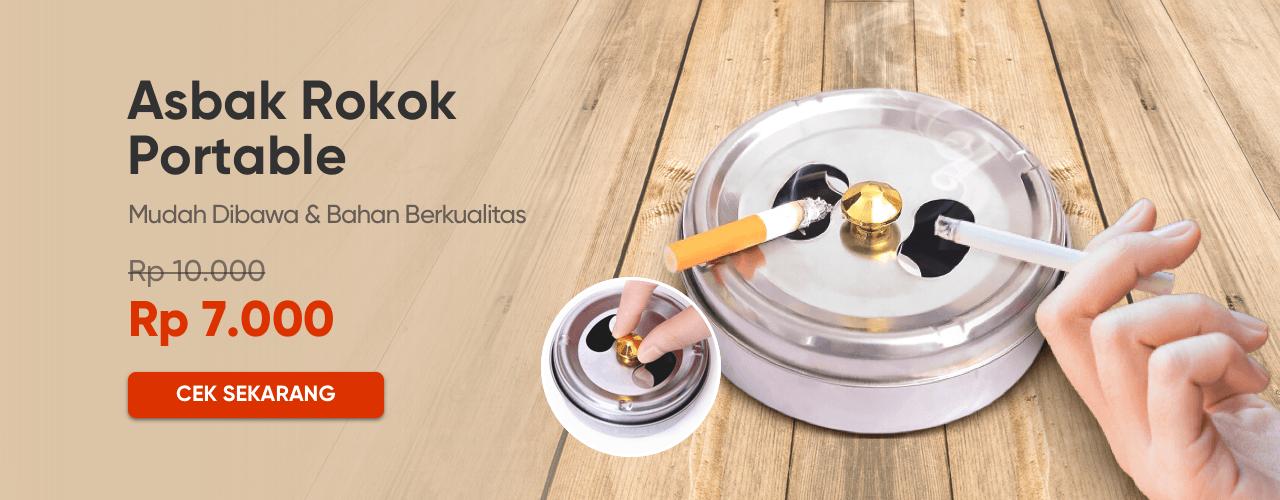 Asbak Rokok Portable
