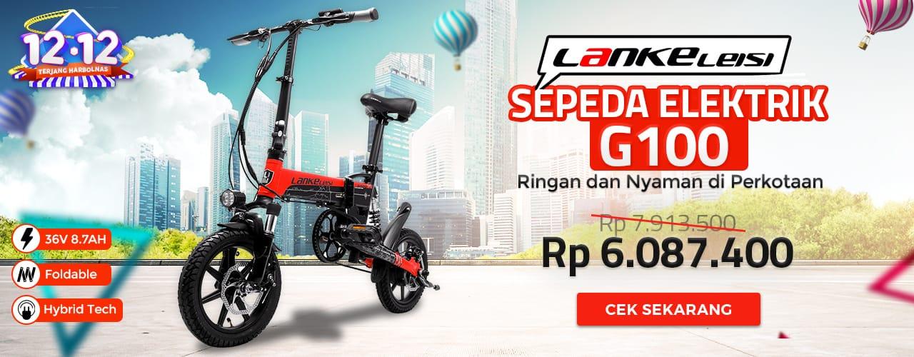 Lankeleisi Sepeda Elektrik G100