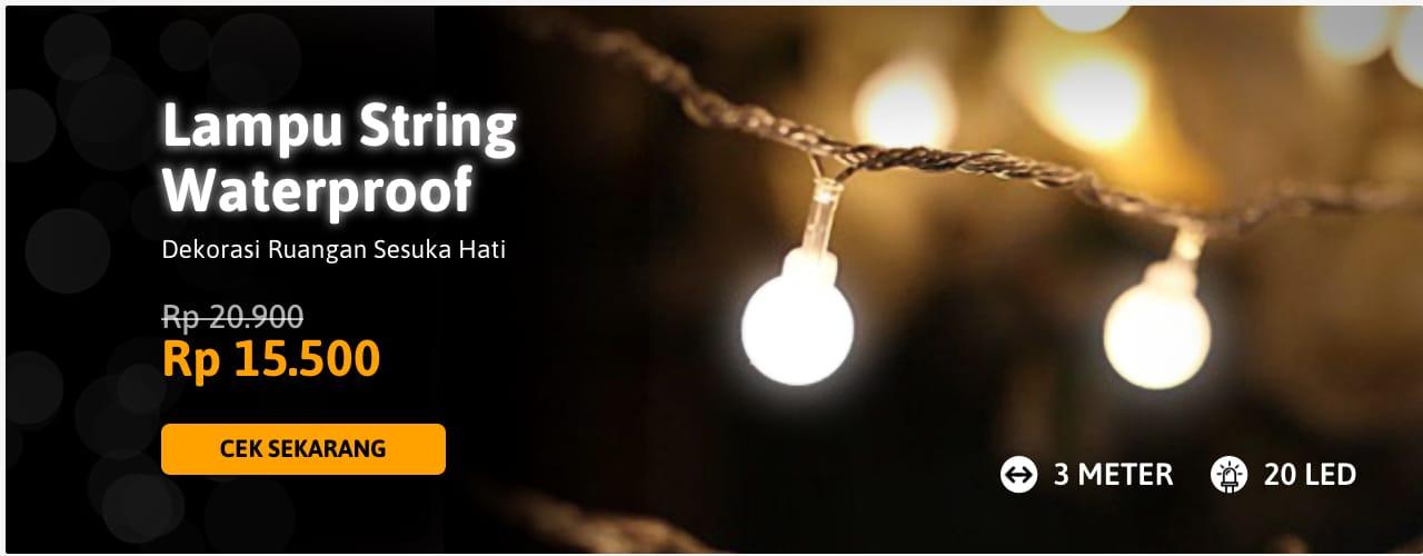 Lampu String Waterproof