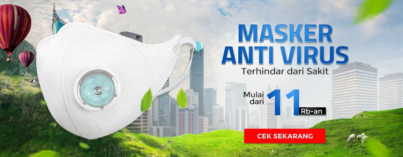 Masker Anti Virus