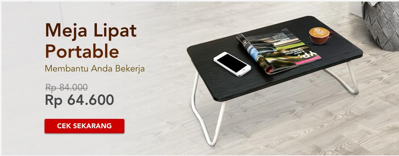 Meja Lipat Portable