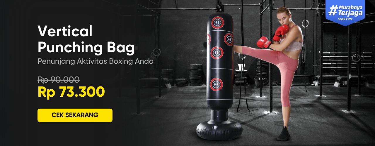 Vertical Punching Bag