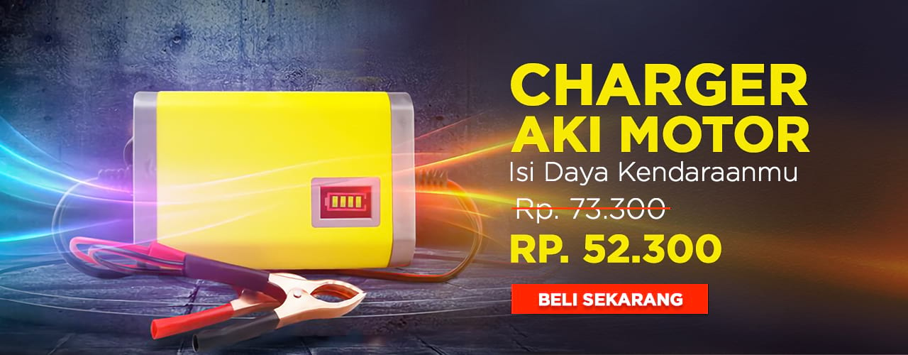 Charger Aki Motor
