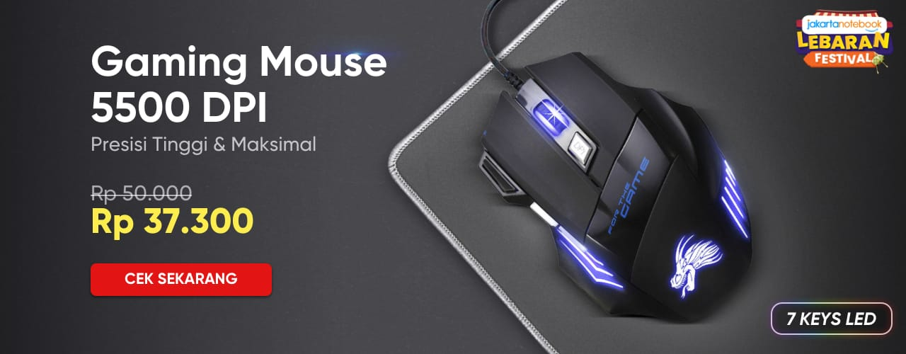 Gaming Mouse 5500 DPI