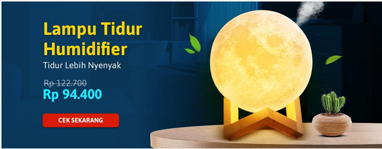 Lampu Tidur Humidifier