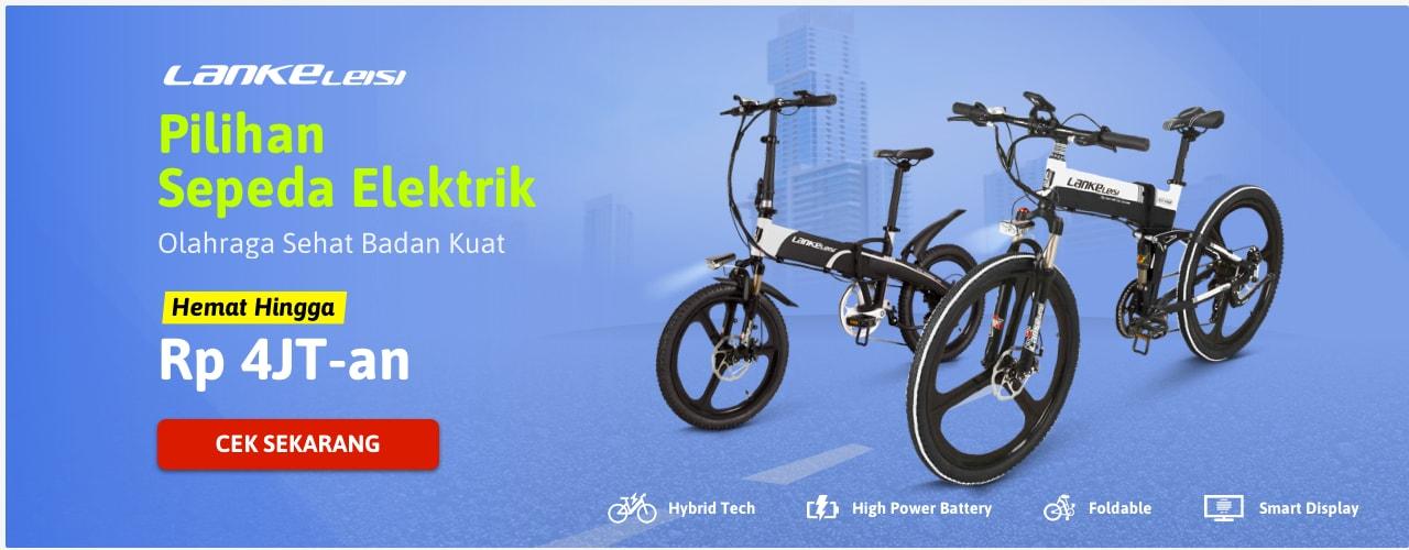 Pilihan Sepeda Elektrik