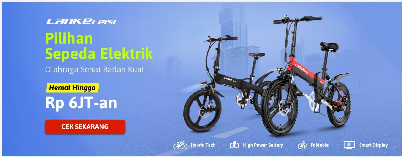 Pilihan Sepeda Elektrik LANKELEISI