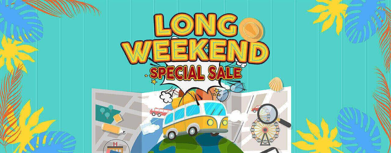 Promo Long Weekend