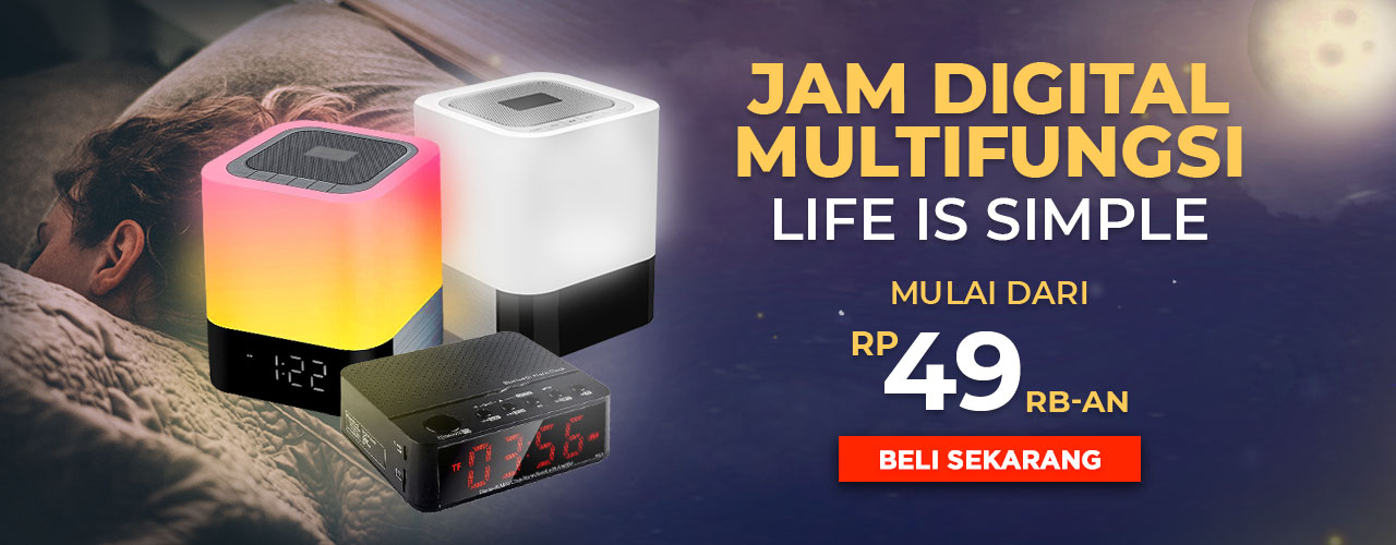 Jam Digital Multifungsi