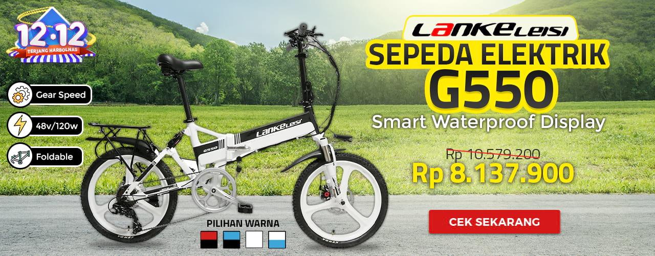 Lankeleisi Sepeda Elektrik G550