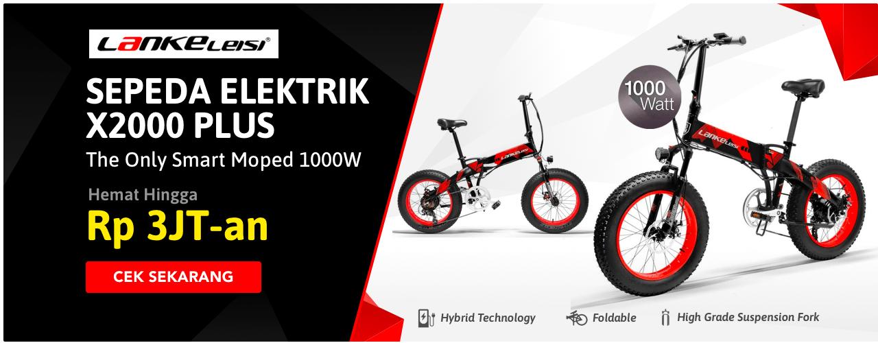 Sepeda Elektrik X2000