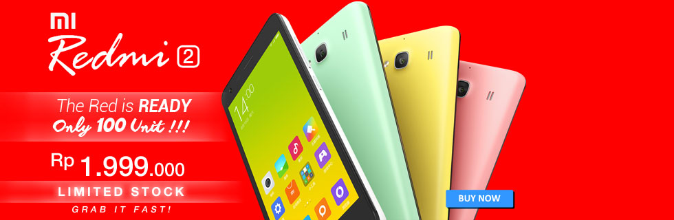 REDMI 2 NOW AVAILABLE