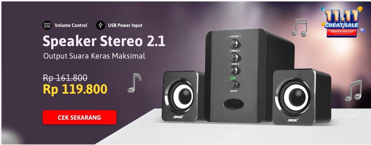 Speaker Stereo 2.1