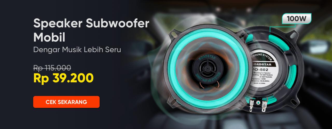 Speaker Subwoofer Mobil