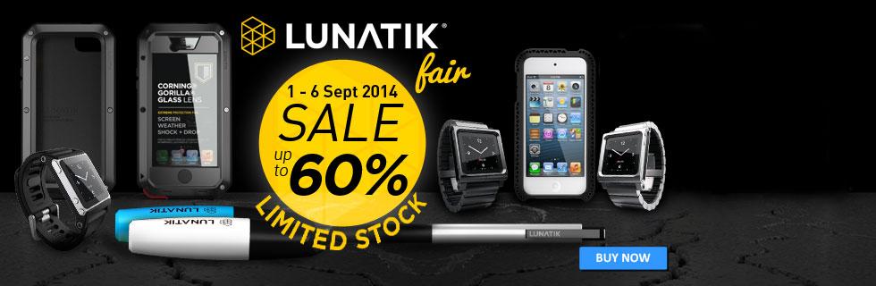 LUNATIK Fair from 1 September till 6 September 2014.