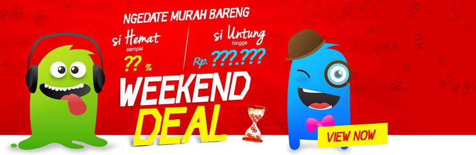 Ngedate Hemat ama Untung di Weekend Deal ala Jaknot