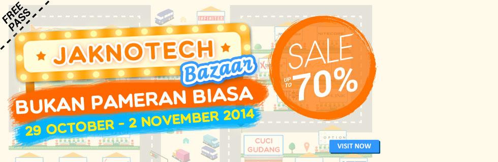 Jaknotech Bazaar 2014 Day