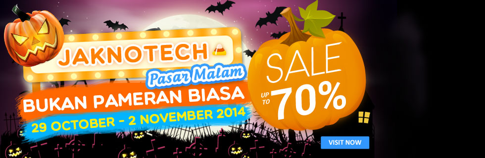 Jaknotech Bazaar 2014 Night