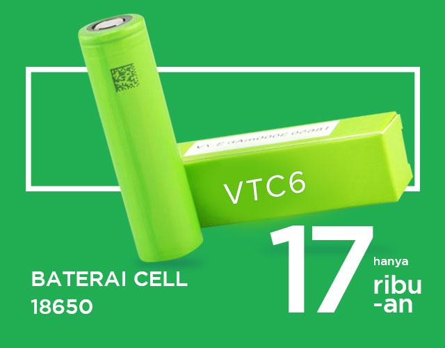Baterai Cell 18650
