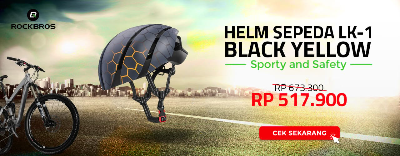 Rockbros Helm Sepeda