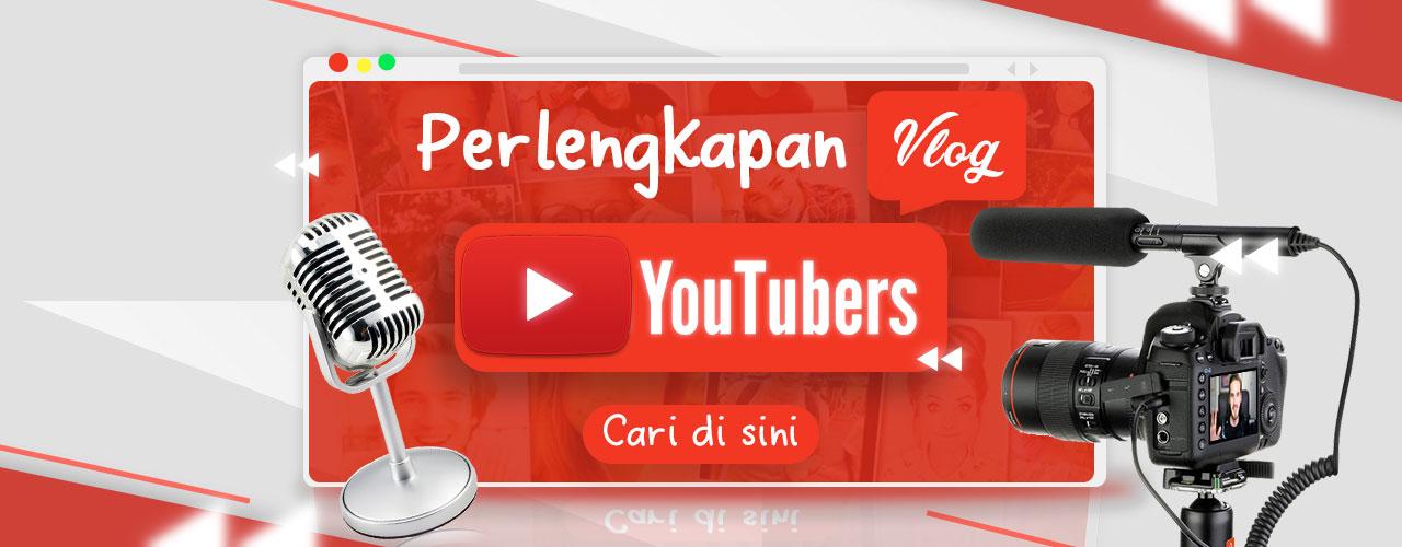 Perlengkapan Vlog Youtubers