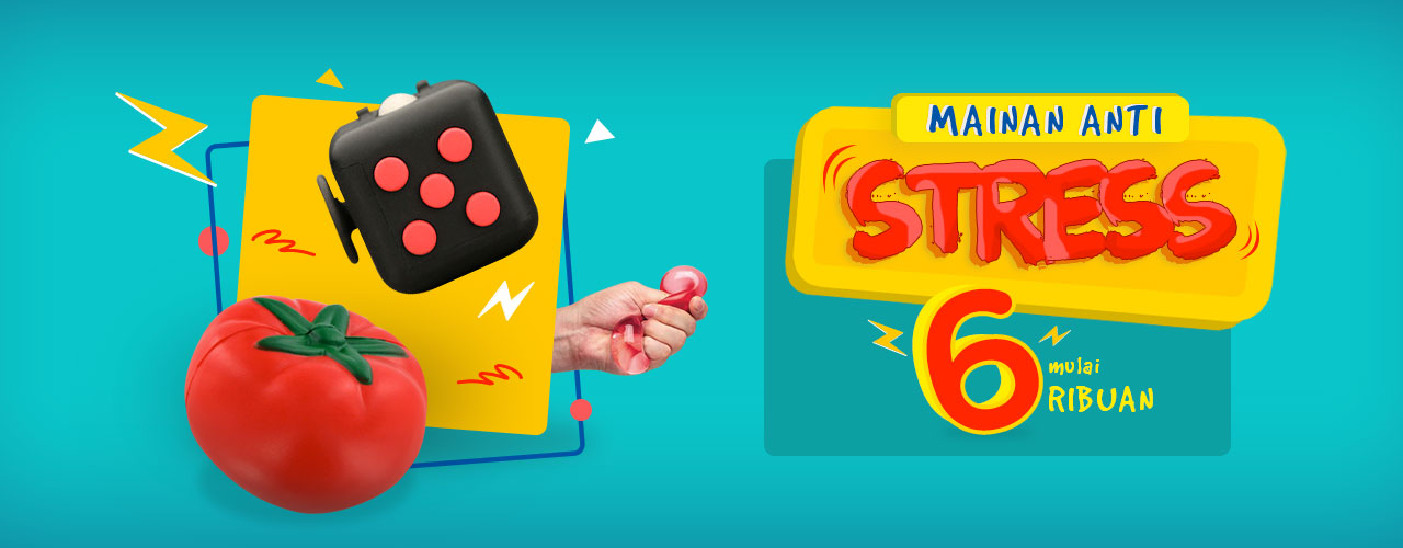 Mainan Pelepas Stress