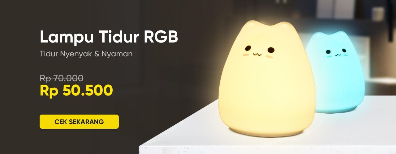 Lampu Tidur RGB