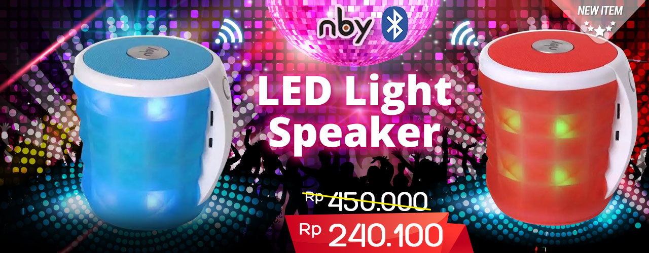 NBY Speaker LED