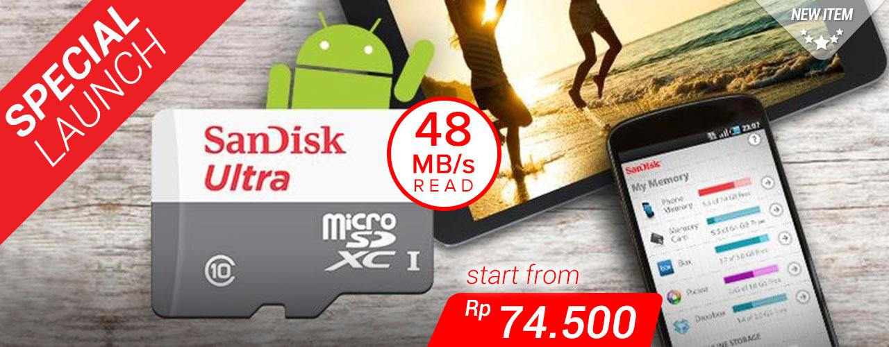 SanDisk NEW microSDHC