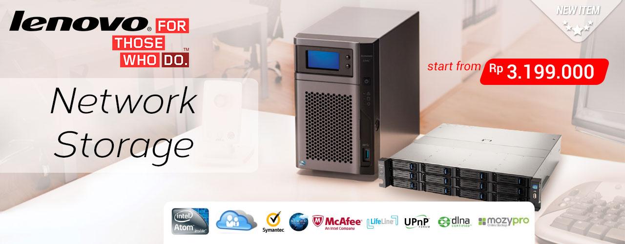 Meet Lenovo Storage