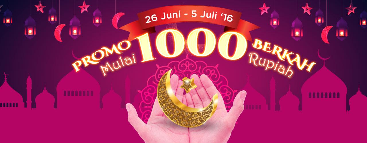 Promo 1000 Berkah