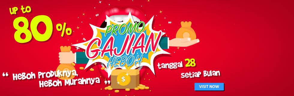 Promo Gajian Heboh