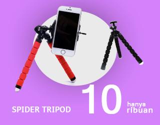 Spider Flexible Tripod