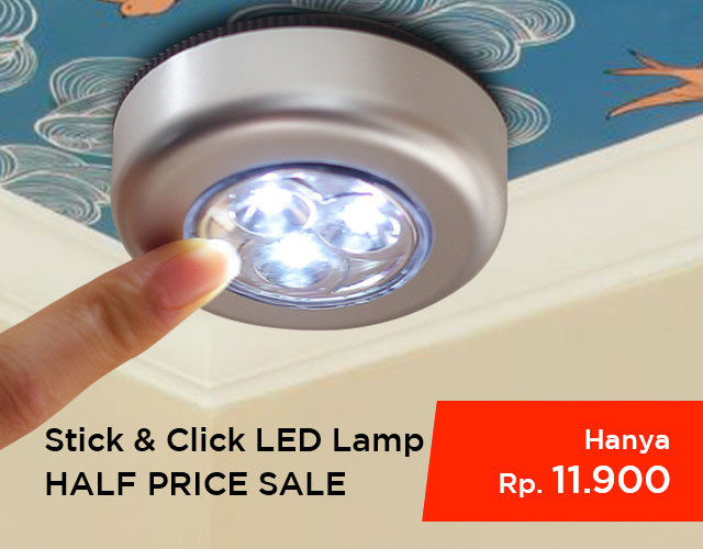 Stick & Click Touch LED Lamp