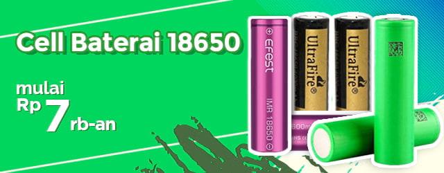 Baterai 18650