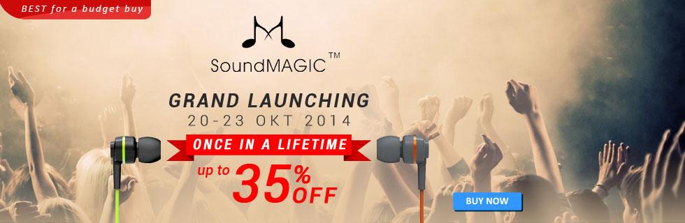 SoundMAGIC Grand Launching