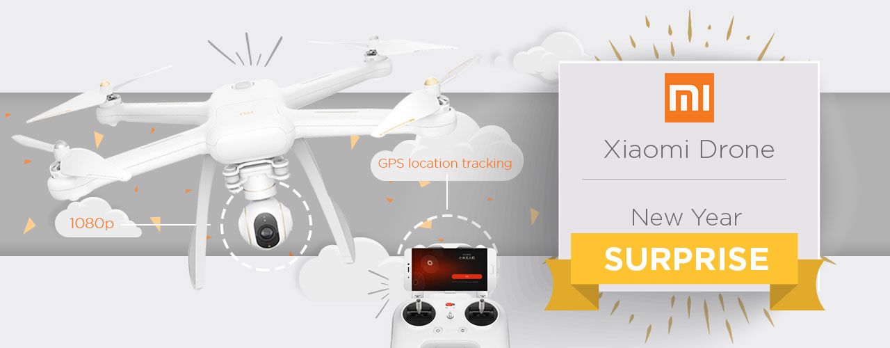 XIAOMI DRONE New Year Surprize