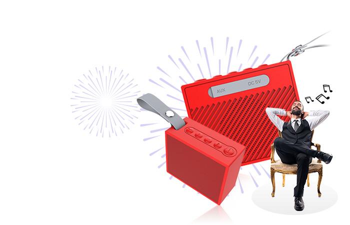 BearBizz X9 Bluetooth Speaker Waterproof