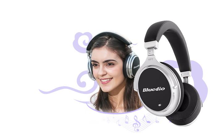 Bluedio F2 Wireless Bluetooth Headphones