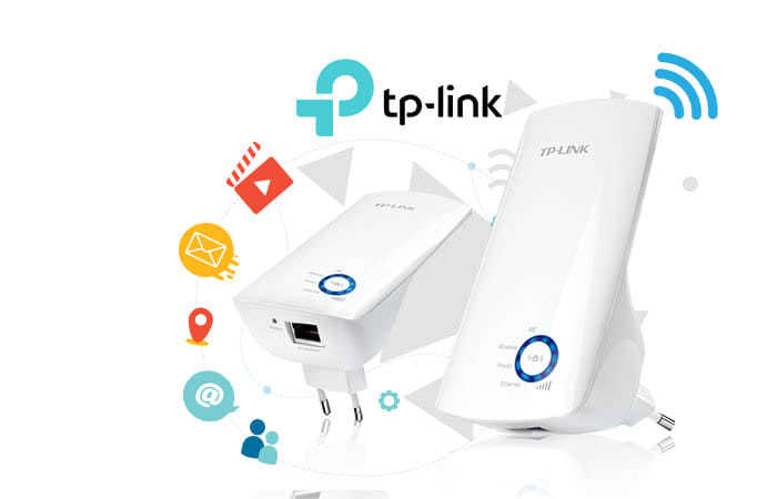 TP-LINK N300 Wi-Fi Wall Plug Extender with Ethernet Port