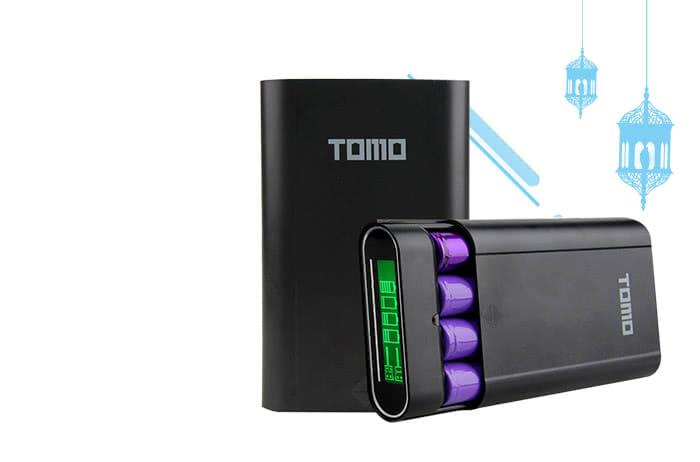 TOMO M4 DIY Power Bank Case 2 USB Port