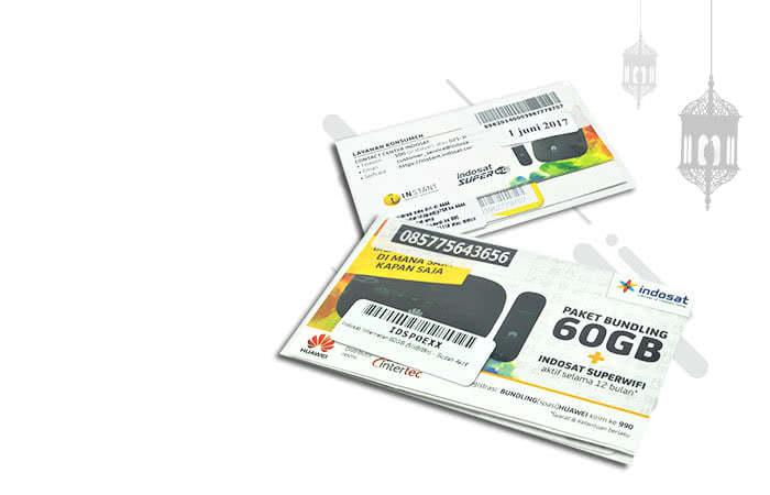 Indosat Internetan 60GB (5GB/Bln)  Selama 12 Bulan