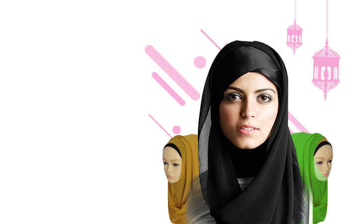 Kerudung Hijab Muslim Chiffon Shawls