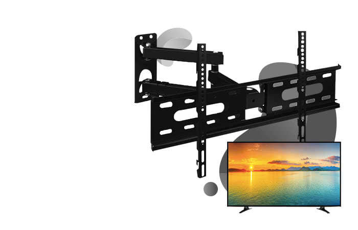 Telescopic TV Bracket 1.3m