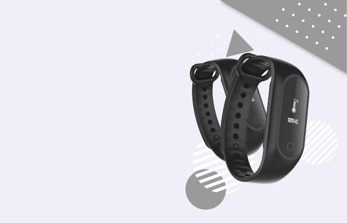 SKMEI Jam Tangan LED Gelang Fitness Tracker - B15S-D