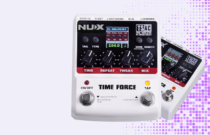 NUX Time Force Delay Effect